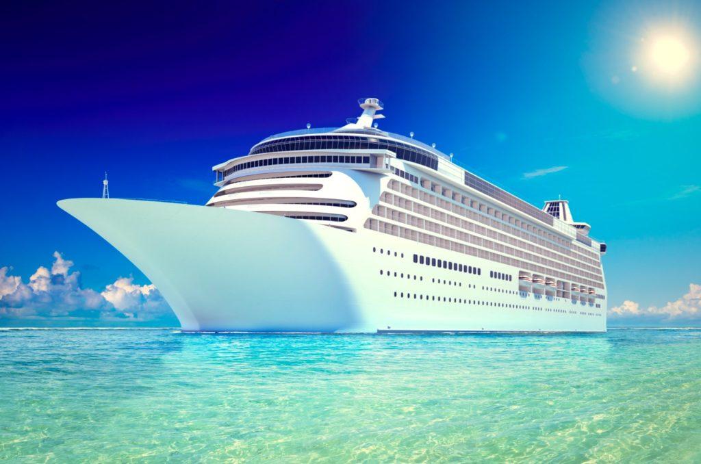 Compostable water bottles closed loop cruise line