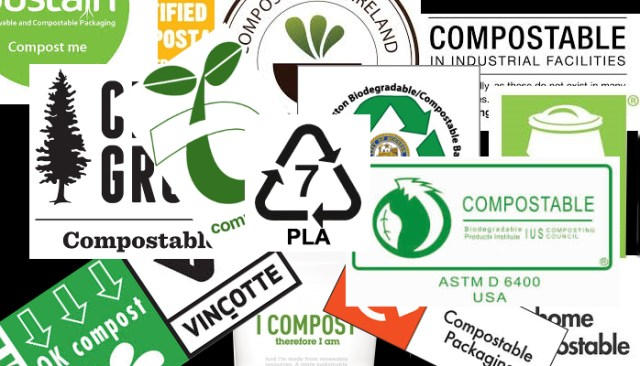 ASTM standards - different logo's compostability
