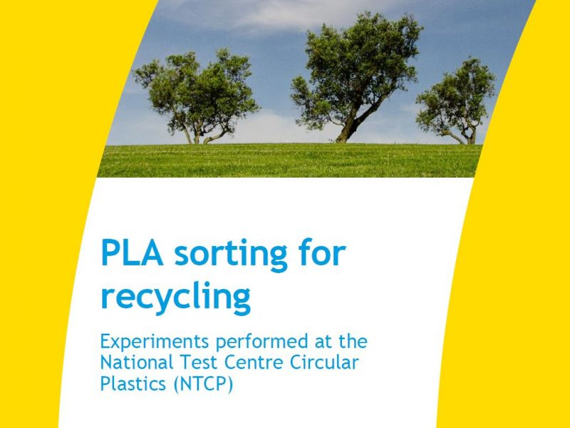 PLA sorting for recycling