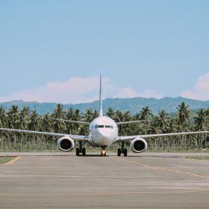 Compostable water bottles closed loop airline